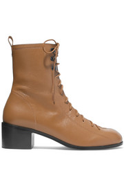Bota leather ankle boots
