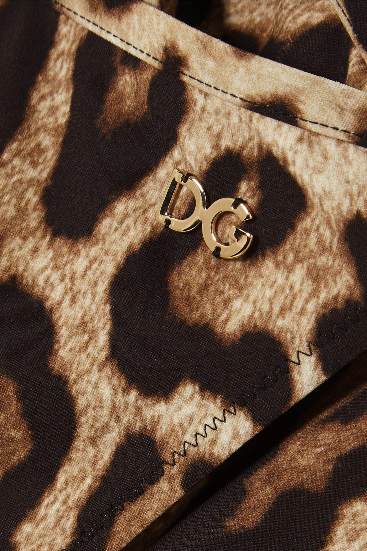 Dolce & Gabbana Leopard-print bikini briefs
