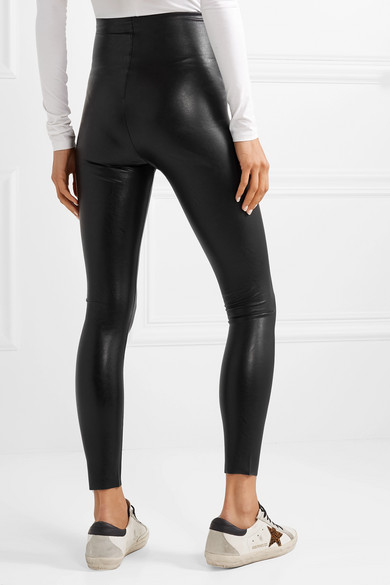new style fair price cheap for discount Commando | Faux stretch-leather leggings | NET-A-PORTER.COM