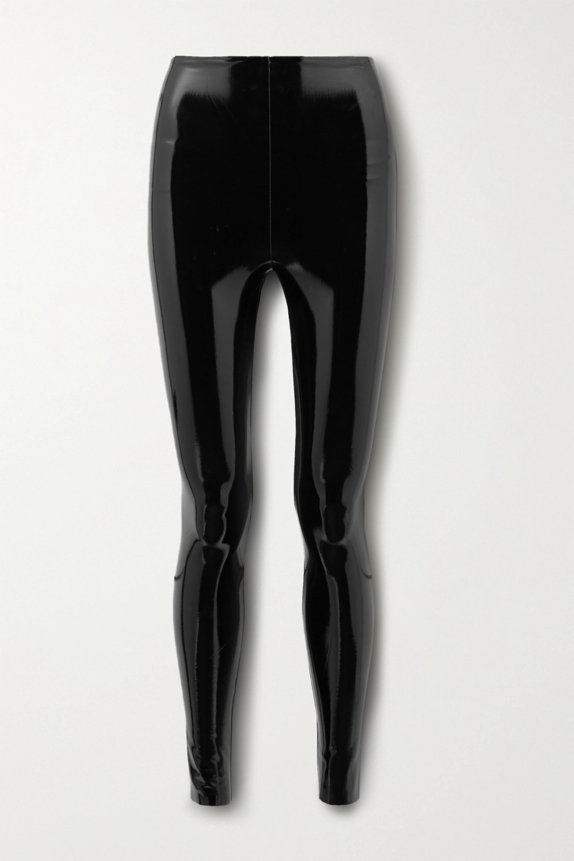 Commando Legging en cuir synthétique verni