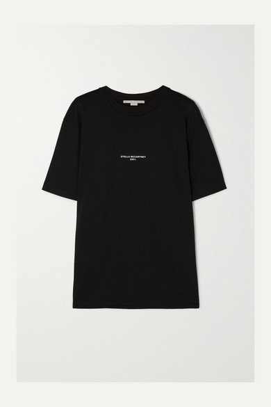 0bacdd64 Stella McCartney | Printed cotton-jersey T-shirt | NET-A-PORTER.COM