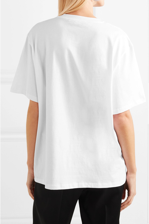 Stella McCartney Printed organic cotton-jersey T-shirt