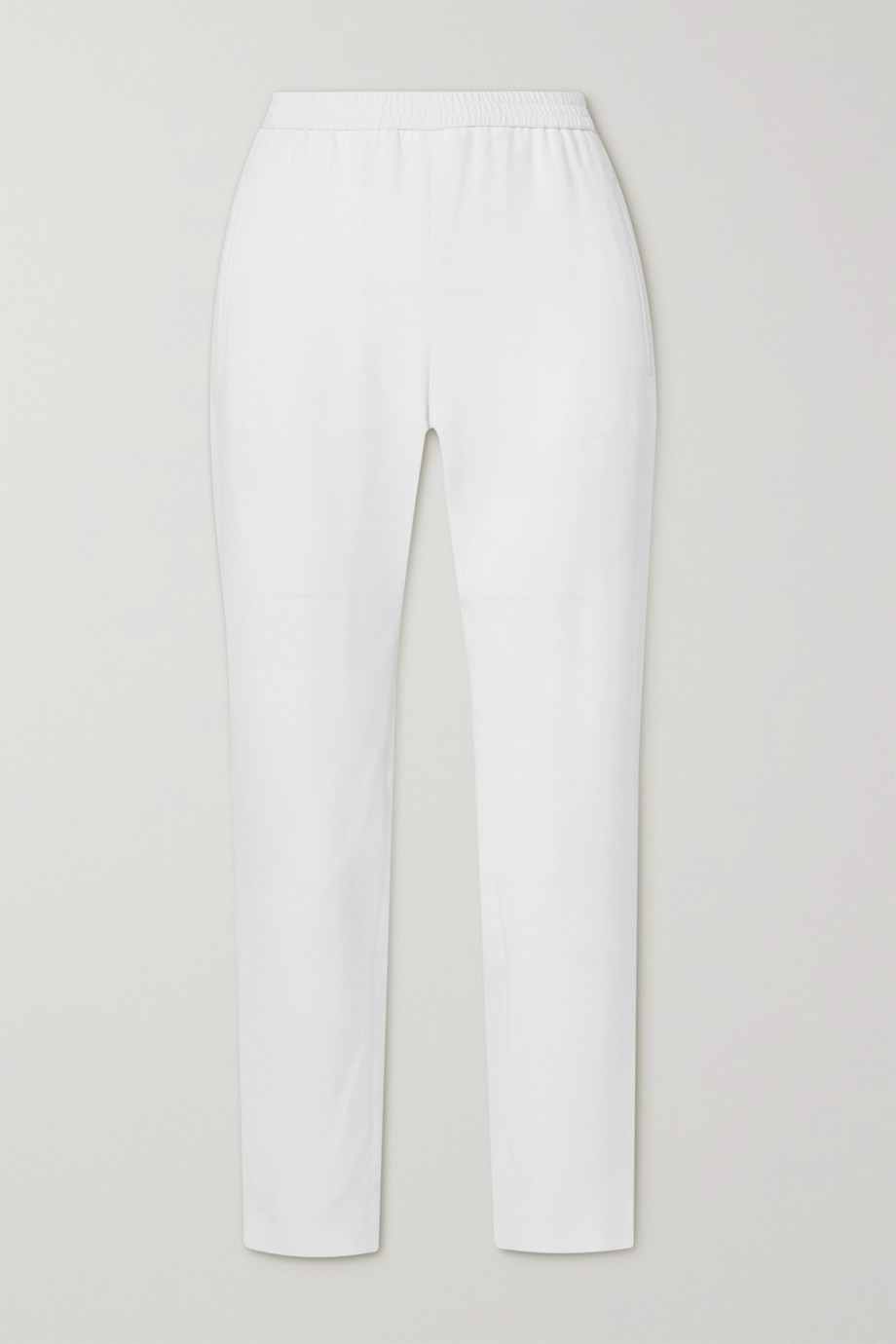 Stella McCartney + NET SUSTAIN Tamara stretch-crepe tapered pants