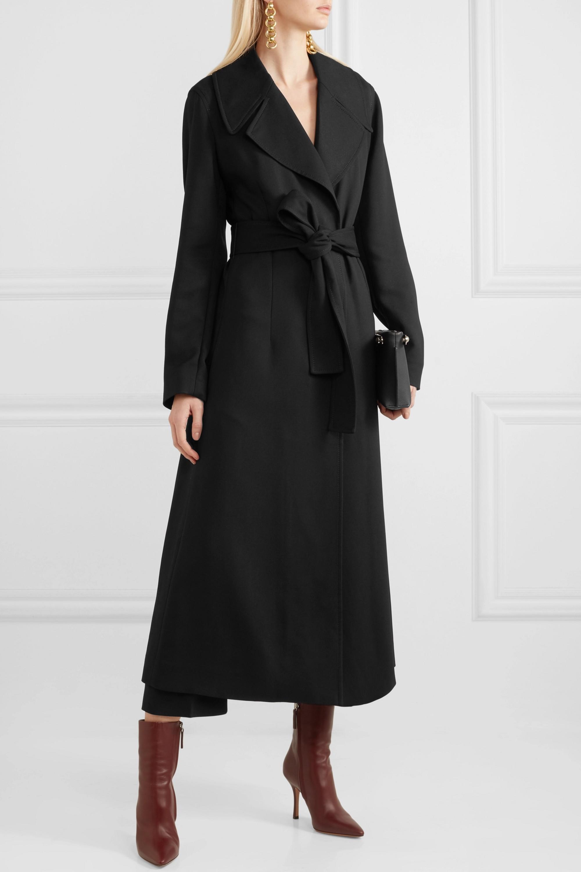 Stella McCartney Belted cady coat
