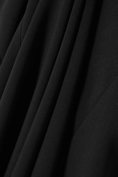 Stella Mccartney Dress Halterneck stretch-cady gown