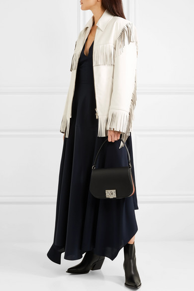 Stella Mccartney Jackets Fringed faux leather jacket