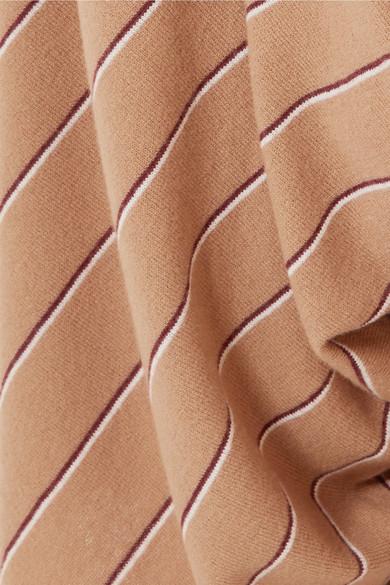 Stella Mccartney Pants Draped striped wool culottes