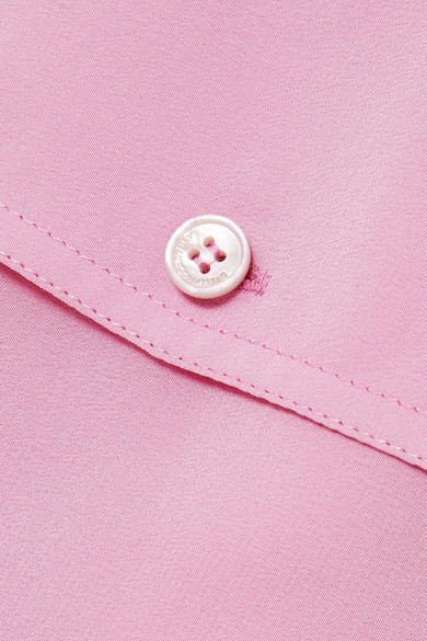 Stella Mccartney Tops Silk crepe de chine blouse
