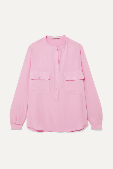 Stella Mccartney Blouses Silk crepe de chine blouse