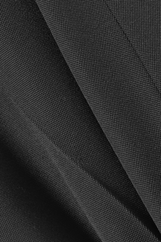 Alexander McQueen Grain de poudre wool flared pants