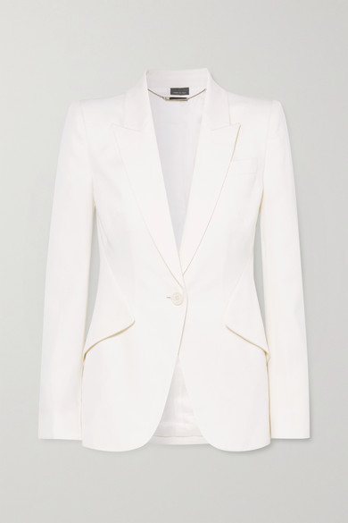 Style File | Spring Trend: The White Pant Suit