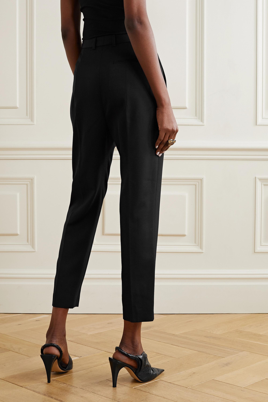 Alexander McQueen Wool straight-leg pants