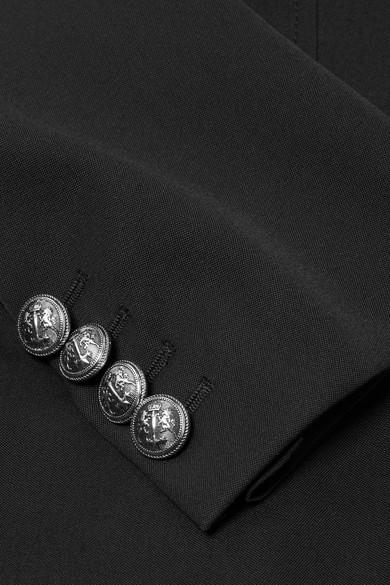 Alexander Mcqueen Blazers Wool-crepe peplum blazer