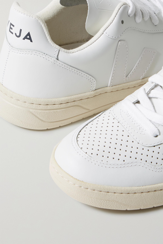 Veja 【NET SUSTAIN】V-10 皮革运动鞋