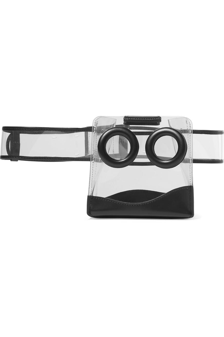 BOYY Deon PVC and leather belt bag