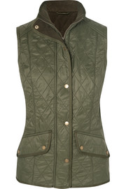 Cavalry quilted shell gilet