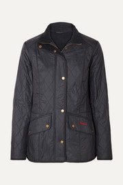 Cavalry quilted shell jacket