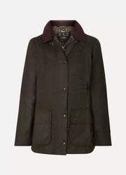 Classic Beadnell waxed-cotton and corduroy jacket