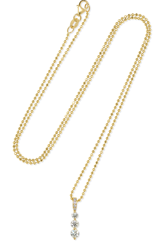 Anita Ko Twiggy Small Kette aus 18 Karat Gold mit Diamanten