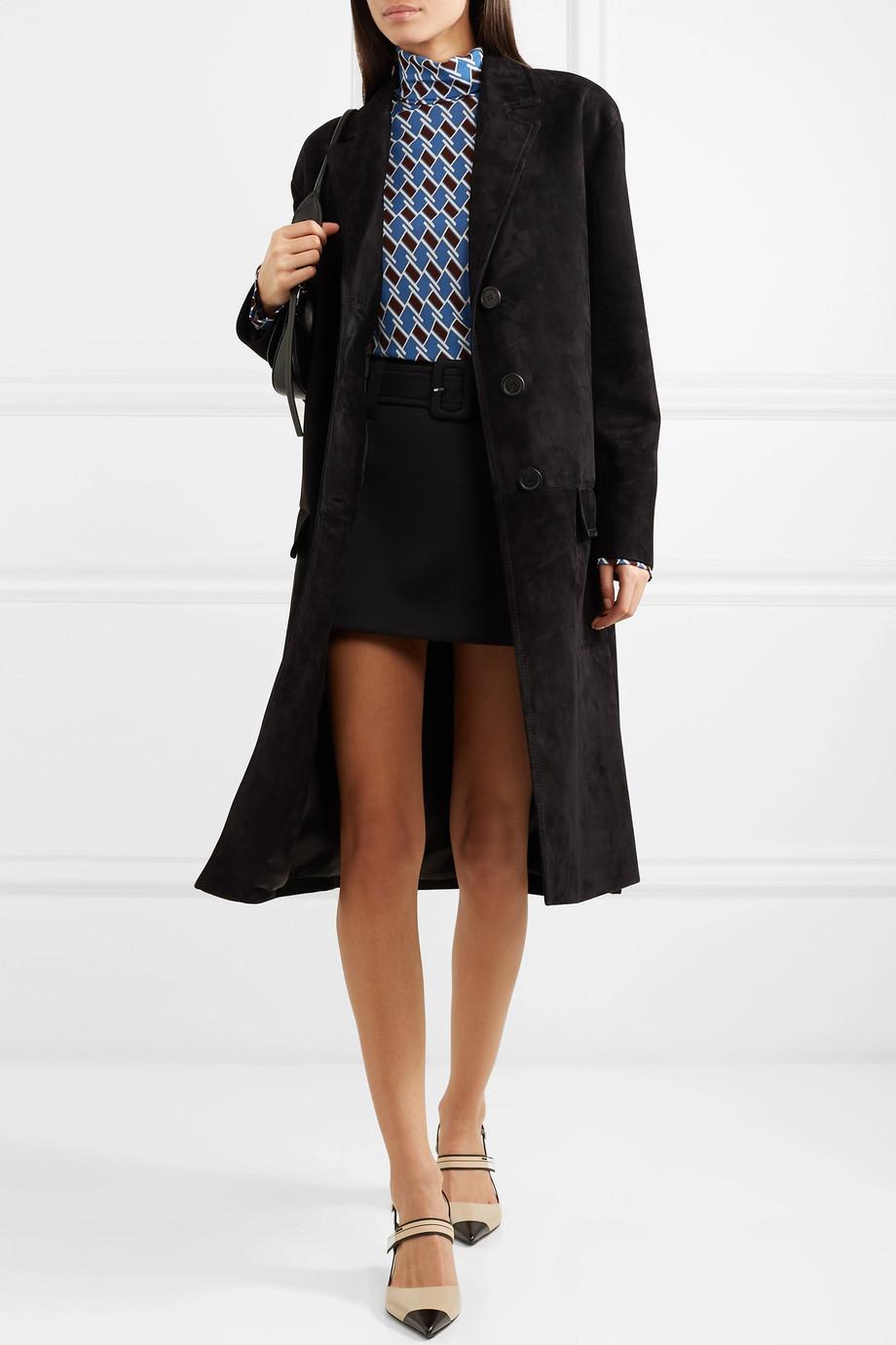 Prada Manteau en daim