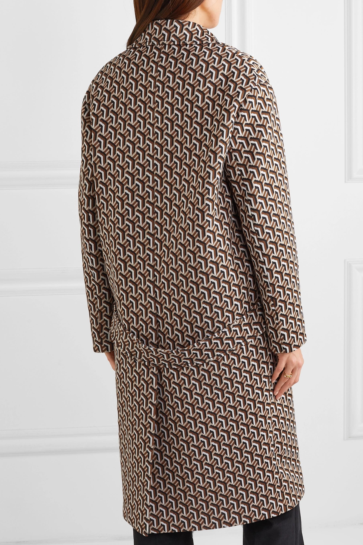 Prada Jacquard-knit coat