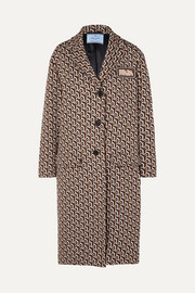 Prada Jacquard-knit coat
