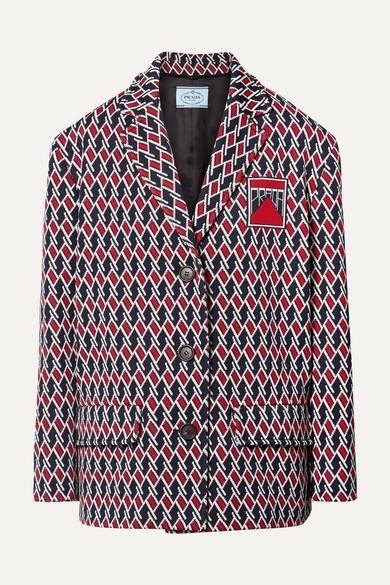 Oversized Prada Jacket