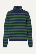 938c5a9253597 Prada Metallic wool-blend turtleneck sweater