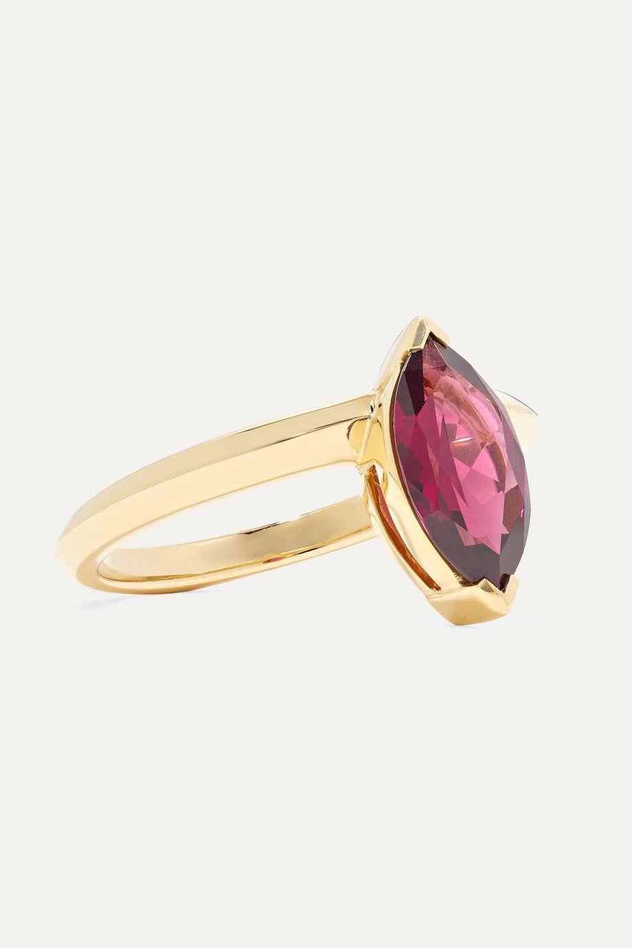 Stephen Webster Jitterbug 18-karat rhodolite ring