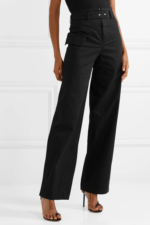 The Range Cotton-twill wide-leg pants