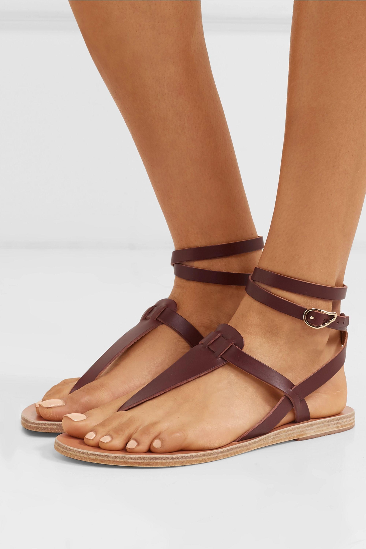 Sandales en cuir Estia marron Ancient Greek Sandals L