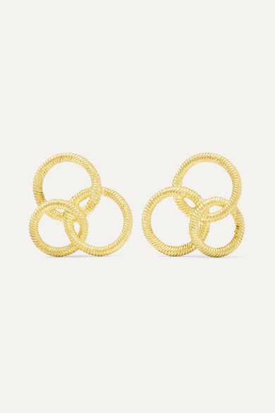BUCCELLATI Hawaii 18-Karat Gold Earrings
