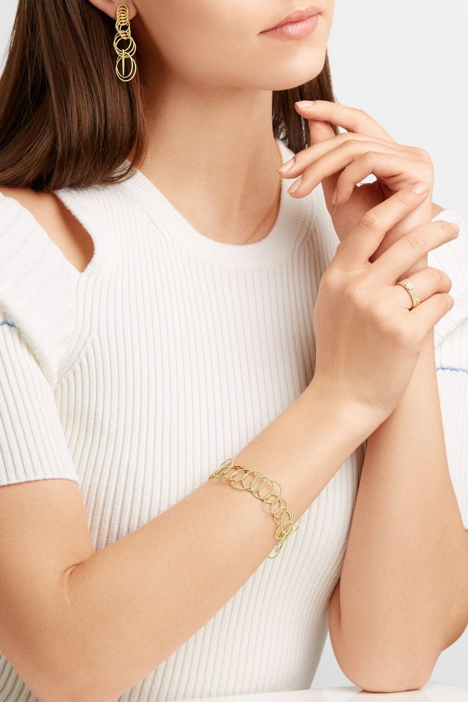 Buccellati Hawaii 18-karat gold bracelet