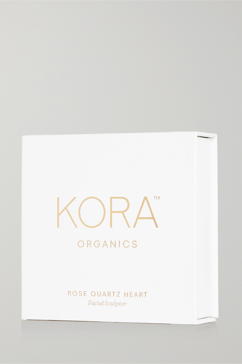 KORA Organics Rose Quartz Heart Facial Sculptor