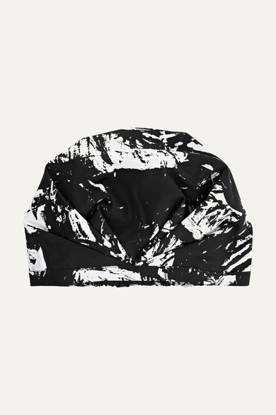 SHHHOWERCAP The Kent Printed Shower Cap - Black