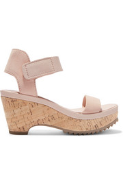Franses suede wedge sandals