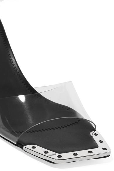 Giuseppe Zanotti Mules Dem embellished PVC mules