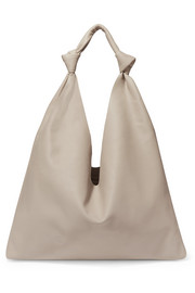Bindle Double Knots leather shoulder bag