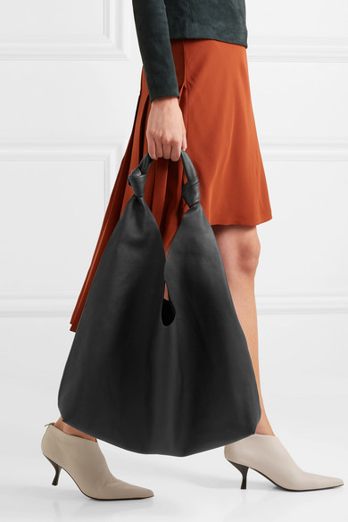 6e829c90633 The Row. Bindle Double Knots leather shoulder bag.  1