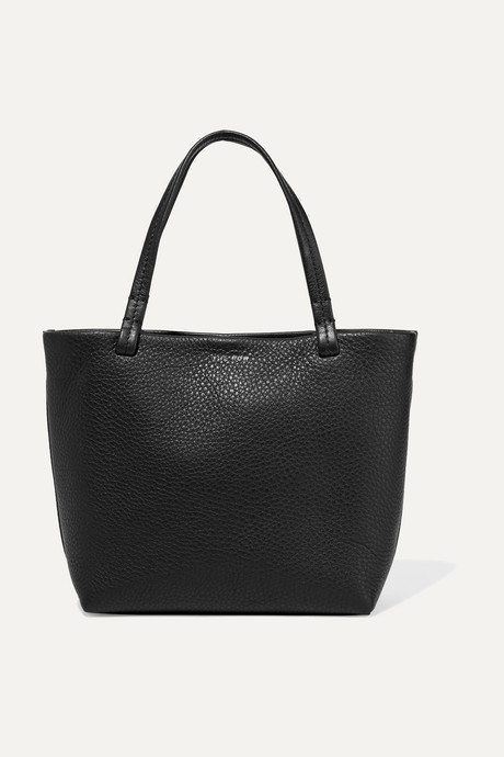 Black Park small textured-leather tote    The Row eeB7qi
