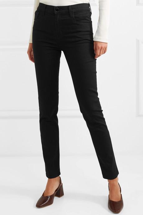 "Ruby 30"" high-rise slim-leg jeans"