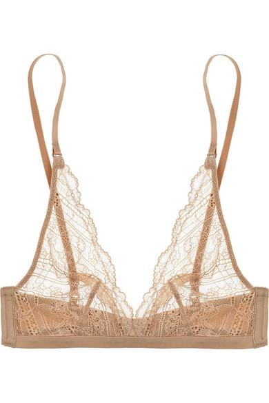 63eb4e38fe Calvin Klein Underwear. Envy lace soft-cup triangle bra