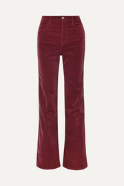 Pantalon large en velours Joan