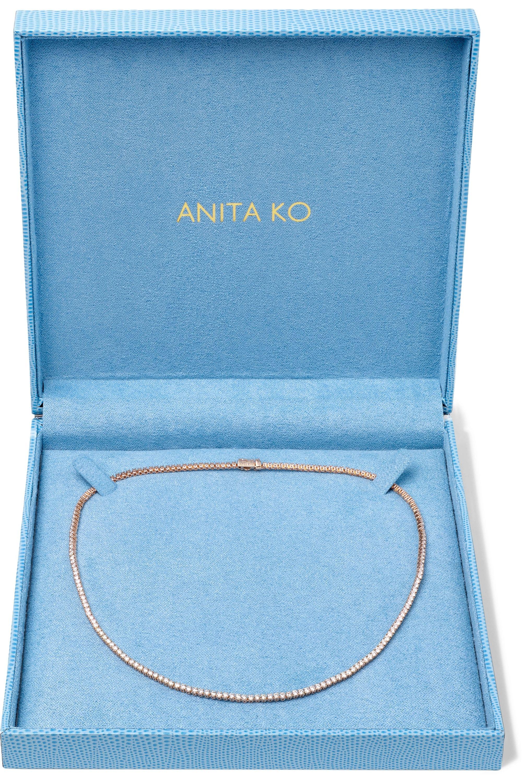Anita Ko Hepburn Kette aus 18 Karat Roségold mit Diamanten