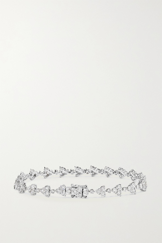 Anita Ko Eternity 18-karat white gold diamond bracelet