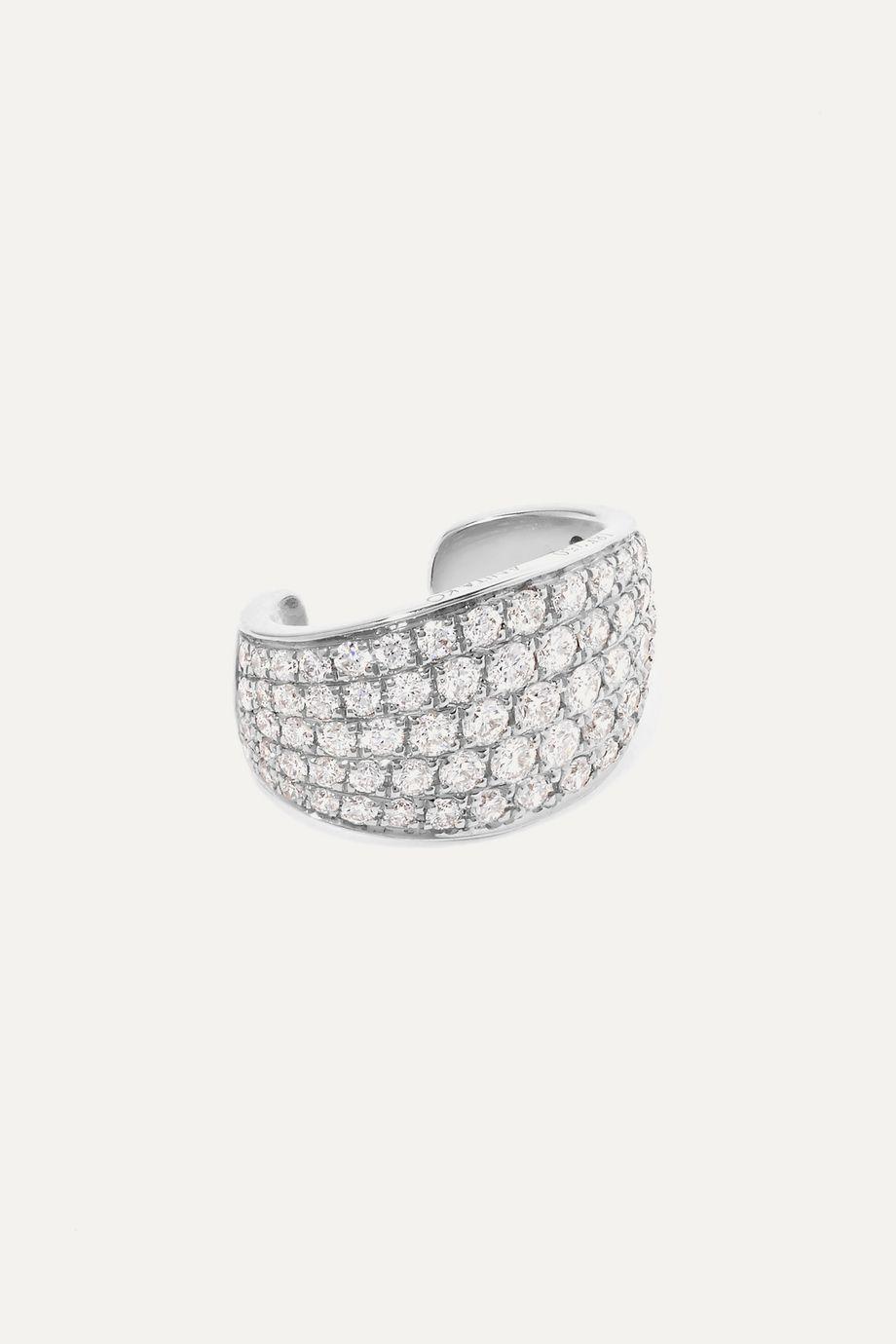 Anita Ko Galaxy 18K 白金钻石单只耳骨夹