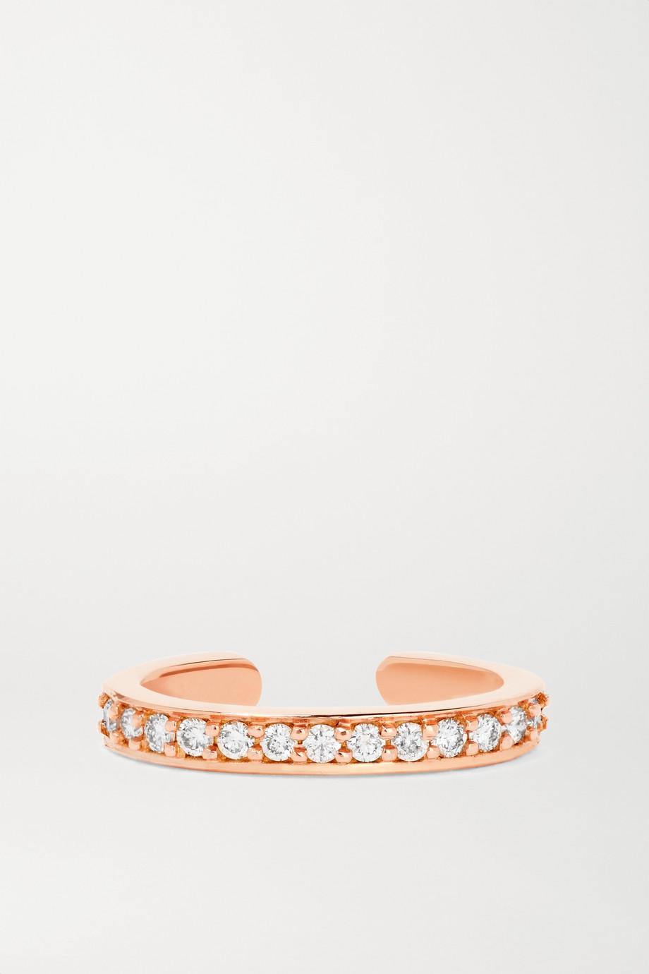 Anita Ko Bijou d'oreille en or rose 18carats (750/1000) et diamants