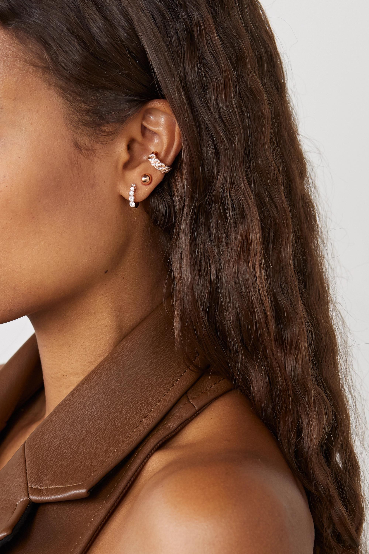 Anita Ko 18-karat rose gold diamond ear cuff