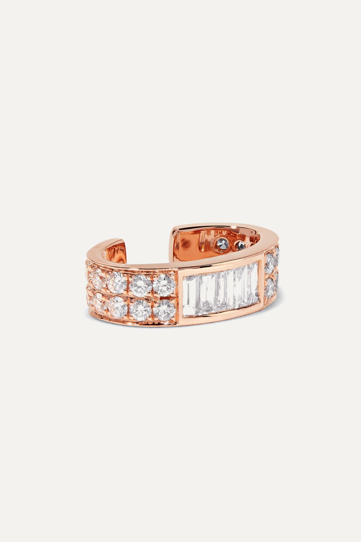 Anita Ko Ear Cuff aus 18Karat Roségold mit Diamanten