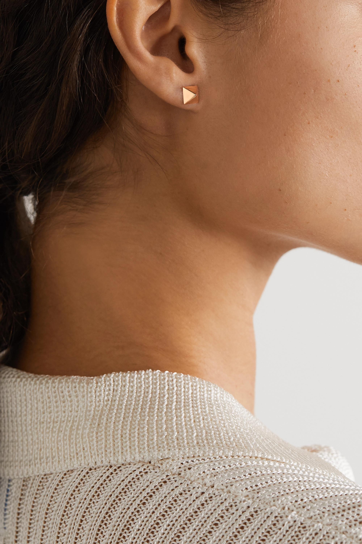 Anita Ko Spike 14-karat rose gold earrings